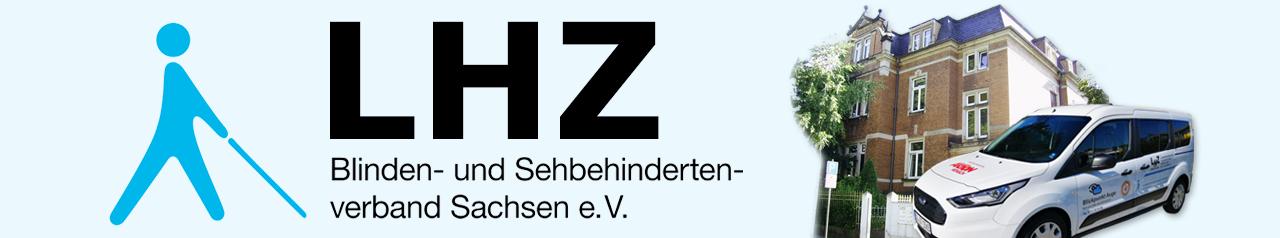 Landeshilfsmittelzentrum und Schriftzug LHZ