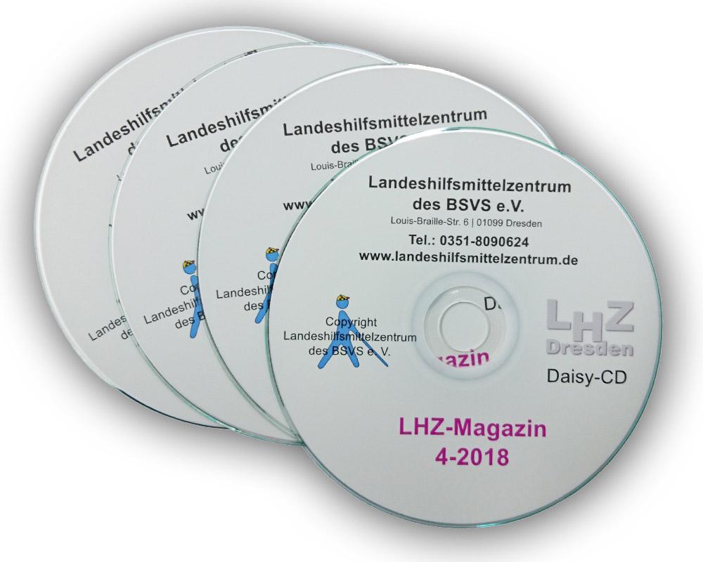 Beispiel-CDs der aktuellen Ausgabe